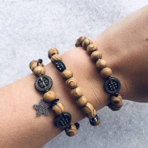 Le bois et la matière bracelet photo 1